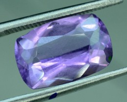 No Reserve 2.75 ct Untreated Antique Shaped Cut Amethyst Gemstone From Afgh