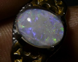 Indonesian Milky Opal Triplet Ring 21.15 CT