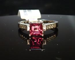 1.02ct Tourmaline Ring