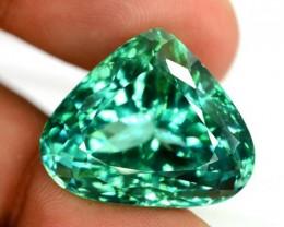 NR ~ 33.05 Carats Lush Green Spodumene Gemstone