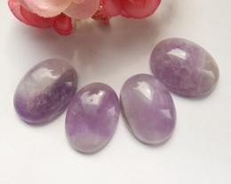 100ct Natural amethyst cabochon beads customized jewelry  (18091536)
