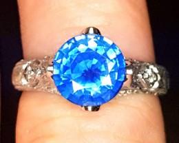 2.45ct Sapphire Ring