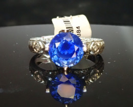 2.45ct Sapphire Ring