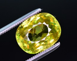 4.40 Ct Magnificent Color Natural Titanite Sphene