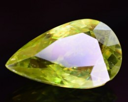 Top Dispersion 5.40 Ct Natural Titanite Sphene