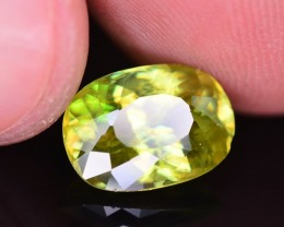 Top Dispersion 4.20 Ct Natural Titanite Sphene