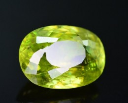 Top Dispersion 4.65 Ct Natural Titanite Sphene