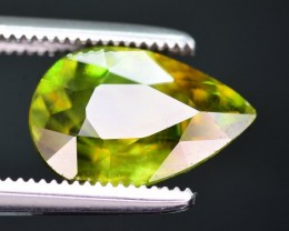 Top Dispersion 2.65 Ct Natural Titanite Sphene