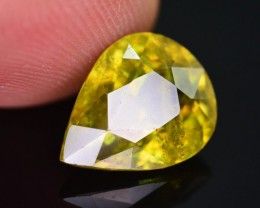 Top Dispersion 4.15 Ct Natural Titanite Sphene