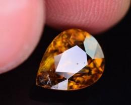 Top Dispersion 2.55 Ct Natural Titanite Sphene