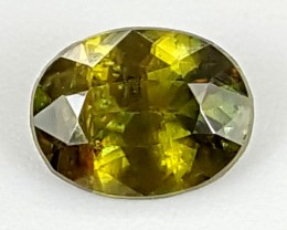 0.60Crt Chrome Sphene  Best Grade Gemstones JI104