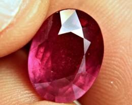 9.70 Carat Fiery Cherry Ruby - Superb