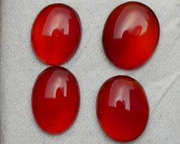14.30 CRT NATURAL INDONESIAN PARCEL CABS CARNELIAN CHALCEDONY