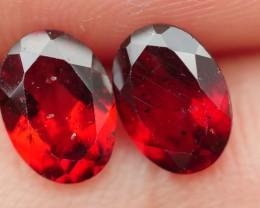 1.75 CRT BEAUTY PAIR RED GARNET-