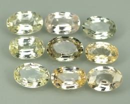 4.45 Cts Natural Intense Beautiful Fancy Sapphire Oval Shape From SRI_LANKA