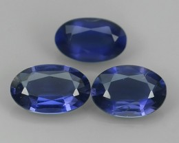 2.10 CT Beautiful Top Luster Oval Violet Blue Unheated SOUTH~AFRICA Iolite