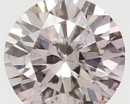 Natural Pink Diamond - 0.18 ct