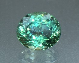2.65 Cts Green Apatite ~ Insanity ~ Awesome Color  ~ Untreated AS10