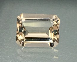 2 Cts  Morganite Awesome Color and Luster Gemstone AS11