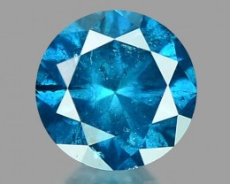0.23 CT DAIMOND SPARKLING BLUE COLOR BD2