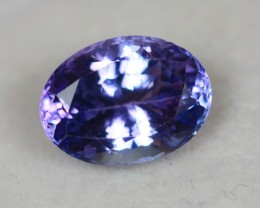 2.44Ct Violet Blue Tanzanite Oval Cut Lot A07