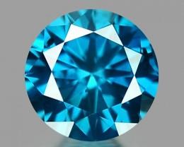 0.13 CT DIAMOND SPARKLING BLUE COLOR BD9