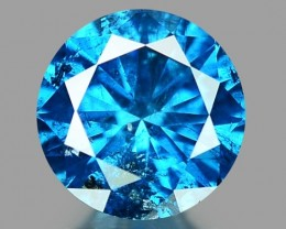 0.26 CT DIAMOND SPARKLING BLUE COLOR BD11
