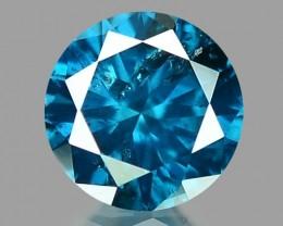 0.15 CT DIAMOND SPARKLING BLUE COLOR BD12
