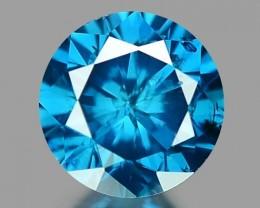 0.19 CT DIAMOND SPARKLING BLUE COLOR BD17