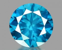 0.14 CT DIAMOND SPARKLING BLUE COLOR BD19