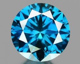 0.17 CT DIAMOND SPARKLING BLUE COLOR BD21