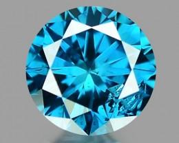 0.13 CT DIAMOND SPARKLING BLUE COLOR BD22