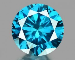 0.15 CT DIAMOND SPARKLING BLUE COLOR BD 23