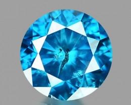 0.16 CT DIAMOND SPARKLING BLUE COLOR BD 27