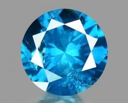 0.14 CT DIAMOND SPARKLING BLUE COLOR BD 28