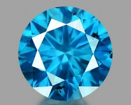 0.16 CT DIAMOND SPARKLING BLUE COLOR BD 29