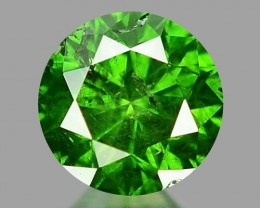 0.27 CT DIAMOND SPARKLING GREEN COLOR GD1