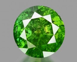 0.26 CT DIAMOND SPARKLING GREEN COLOR GD5