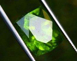 WIN ON 200 12.50  Carats  French Cut Natural Olivine Green Natural Peridot