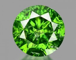 0.24 CT DIAMOND SPARKLING GREEN COLOR GD9