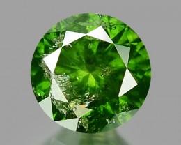 0.24 CT DIAMOND SPARKLING GREEN COLOR GD10