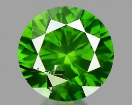 0.22 CT DIAMOND SPARKLING GREEN COLOR GD14