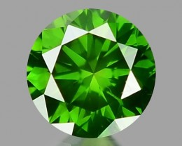 0.15 CT DIAMOND SPARKLING GREEN COLOR GD17