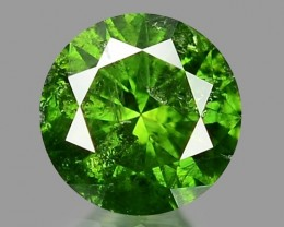 0.20 CT DIAMOND SPARKLING GREEN COLOR GD25