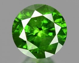 0.18 CT DIAMOND SPARKLING GREEN COLOR GD30