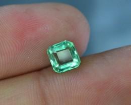 1.05 ct Natural Light Color Emerald~Panjshir
