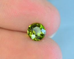 0.80 ct Natural Greenish Tourmaline