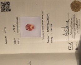 GIA affiliated certification.