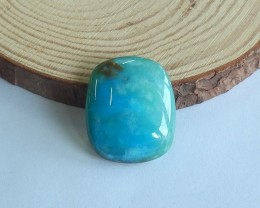 31ct Natural blue opal cabochon bead customized jewelry  (18091519)