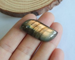 36ct Natural labradorite cabochon bead customized jewelry  (18091579)